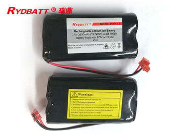 China 2S1P 7.4 V 18650 Battery Pack 2600mAh Li lon For Electric Tool Oem Availiable supplier