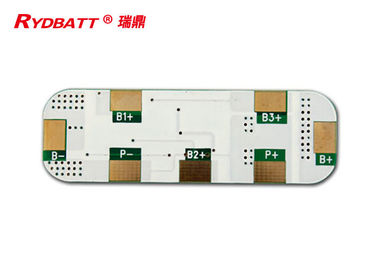 PCB For 4 Cells Bms Battery Management System 14.4V Li-Ion Li-Polymer Lithium Battery
