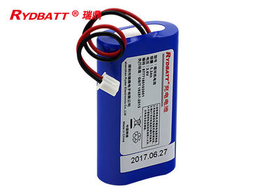 1S2P 3.6V 5200mAh Li Ion 18650 Battery Pack More Than 500 Times Cycle Life