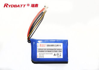 LP 483655 2S1P 7.4V 780mAh Lithium Polymer Charge Pack